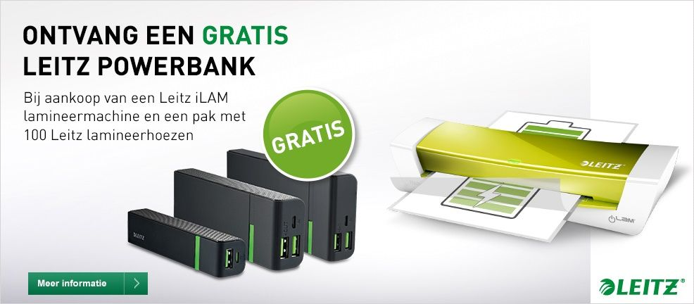 Leitz iLAM powerbank