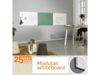 Modular Whiteboard 88x118cm emaille