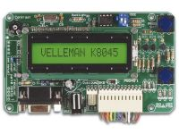 Programmeerbaar Message Board Met Lcd, Seriële Interface & 8 Ingangen