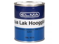 Elma Aqua hoogglanslak RAL 9010 750 ml