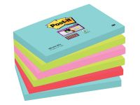 Memoblok 3M Post-it 655-SSMI Super Sticky 76x127mm Miami